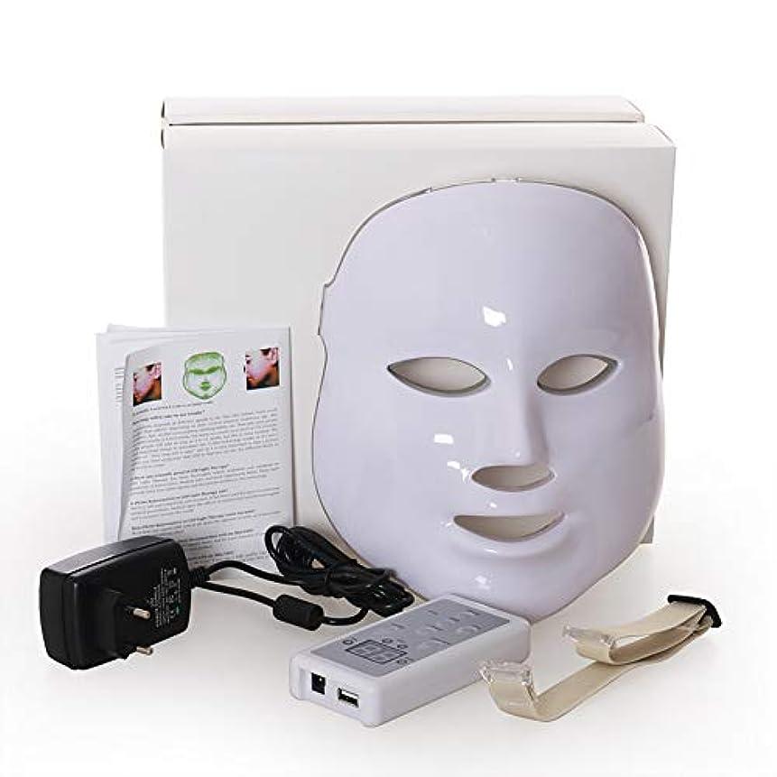 滅びるからキャラクターLed のマスク、7色はしわ、にきび及び健康な皮の若返りのコラーゲン、反老化の美のマスクのための軽い療法の顔のスキンケアのマスクを導きました