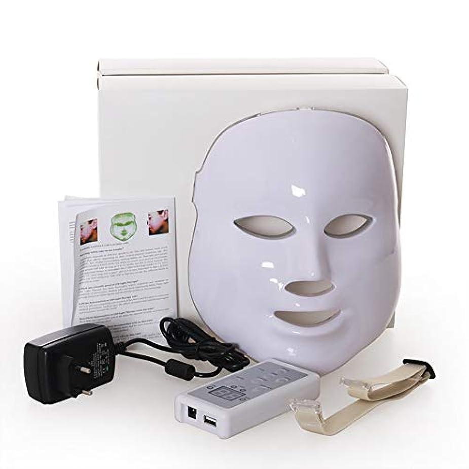 早熟ジャム少しLed のマスク、7色はしわ、にきび及び健康な皮の若返りのコラーゲン、反老化の美のマスクのための軽い療法の顔のスキンケアのマスクを導きました