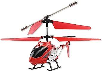 model king ラジコン ヘリコプター 室内ラジコンヘリ 3.5ch (レッド)