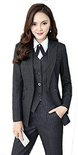 激情女郎 リクルートスーツ レディース ストライプ スカートスーツ 就活 olスーツ ビジネススーツ パンツ 大きいサイズ セットスーツ …...