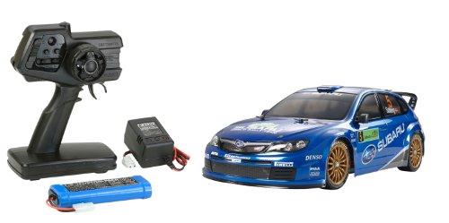 1/10 XBシリーズ No.86 XB スバル インプレッサ WRC 2008 (TT-01 TYPE-E) 2.4GHz プロポ付き塗装済み完成品 57786