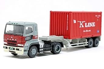 ザ・トレーラーコレクション第2弾 日本高速輸送 三菱ふそうスーパーグレート+川崎汽船 ドライ20ftコンテナ