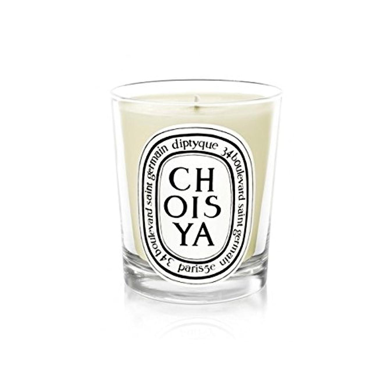 人気の煙突最悪Diptyque Candle Choisya / Mexican Orange Blossom 190g (Pack of 2) - DiptyqueキャンドルChoisya /メキシコオレンジの花の190グラム (x2...