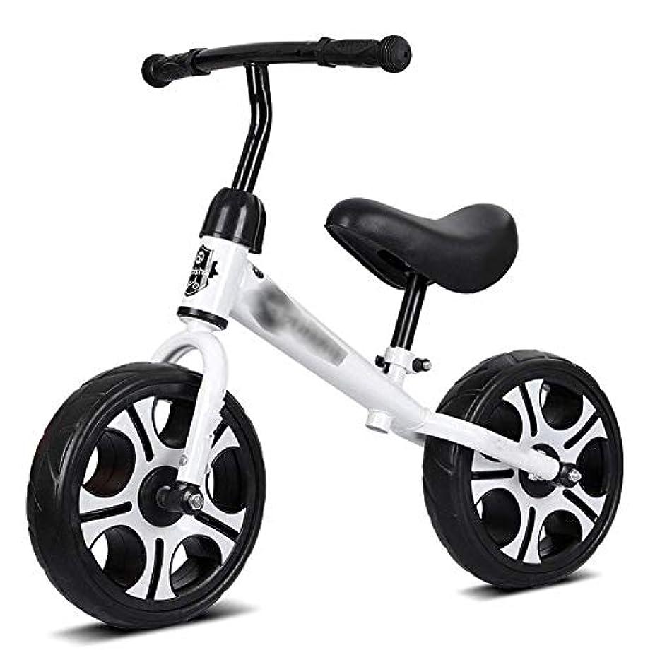 砲兵フェローシップタイト2?6歳用バランスバイク、少年少女トレーニング自転車、子供用ペダルなしウォーキングバイク、12インチホイール、スチールフレーム、フォームタイヤ