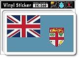 SK-360 フィジー FIJI 国旗ステッカー スーツケースステッカー