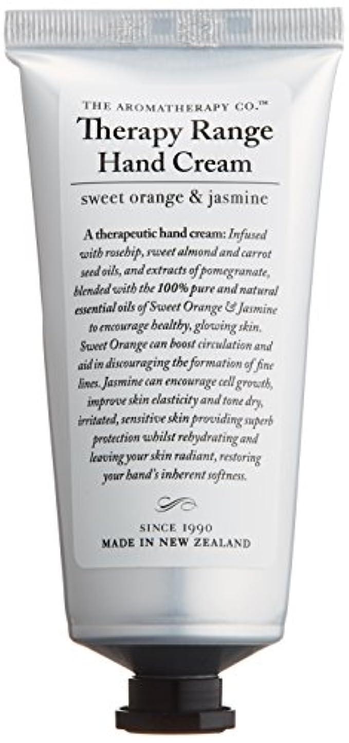 アロマセラピーカンパニー Therapy Range セラピーレンジ ナリシングハンドクリーム スイートオレンジ& ジャスミン