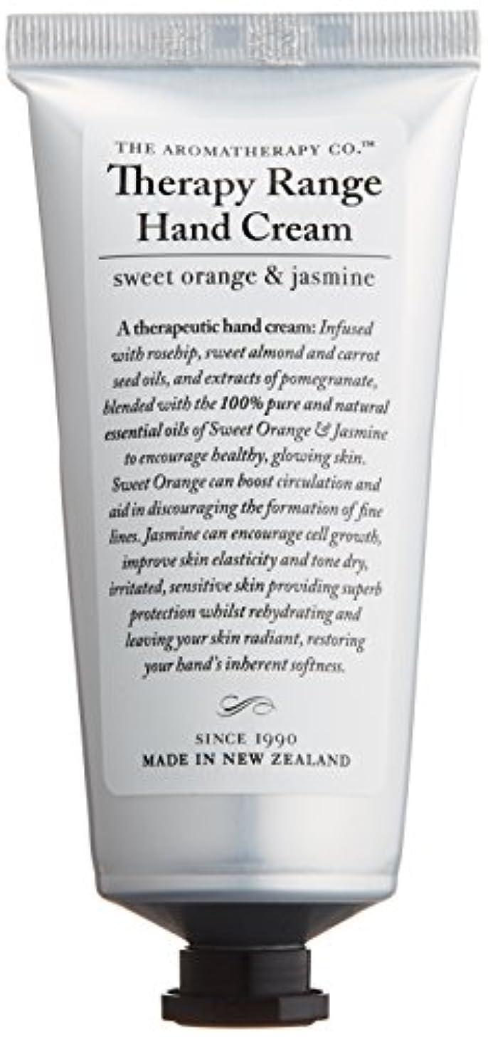 クラウド魅了するつまずくアロマセラピーカンパニー Therapy Range セラピーレンジ ナリシングハンドクリーム スイートオレンジ& ジャスミン