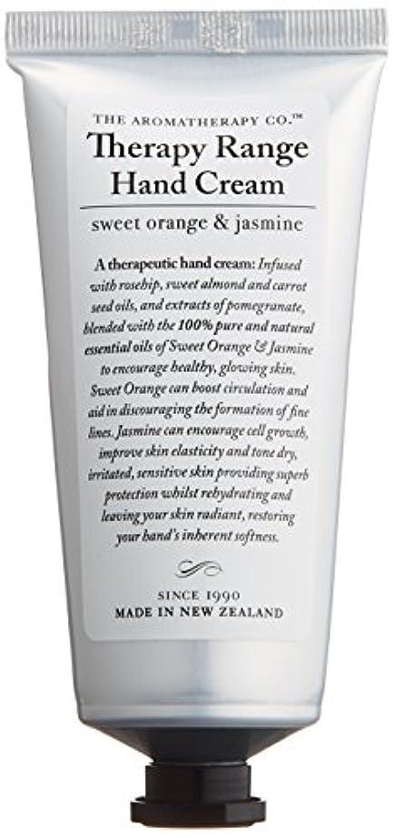 可能性乳周囲アロマセラピーカンパニー Therapy Range セラピーレンジ ナリシングハンドクリーム スイートオレンジ& ジャスミン