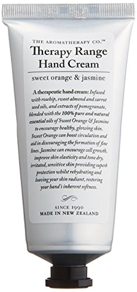 靄積分スティックアロマセラピーカンパニー Therapy Range セラピーレンジ ナリシングハンドクリーム スイートオレンジ& ジャスミン