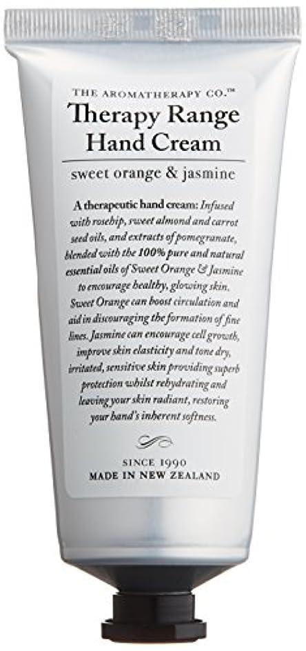 極めて重要なモンクパニックアロマセラピーカンパニー Therapy Range セラピーレンジ ナリシングハンドクリーム スイートオレンジ& ジャスミン
