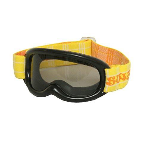 SWANS(スワンズ) スノーゴーグル 子供 幼児用 UVカット ベビー キッズ スキーゴーグル ブラック 幼児用
