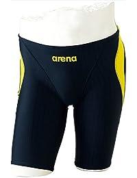 arena (アリーナ) ジュニアハーフスパッツ アクアレーシング ジュニア ARN-7052MJ NVYL 1705