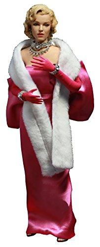 スターエーストイズ マイ フェイバリット レジェンド シリーズ マリリン モンロー 「ローレライ リー」 ピンク ドレス ver. 1/6 スケール 塗装済み 可動フィギュア