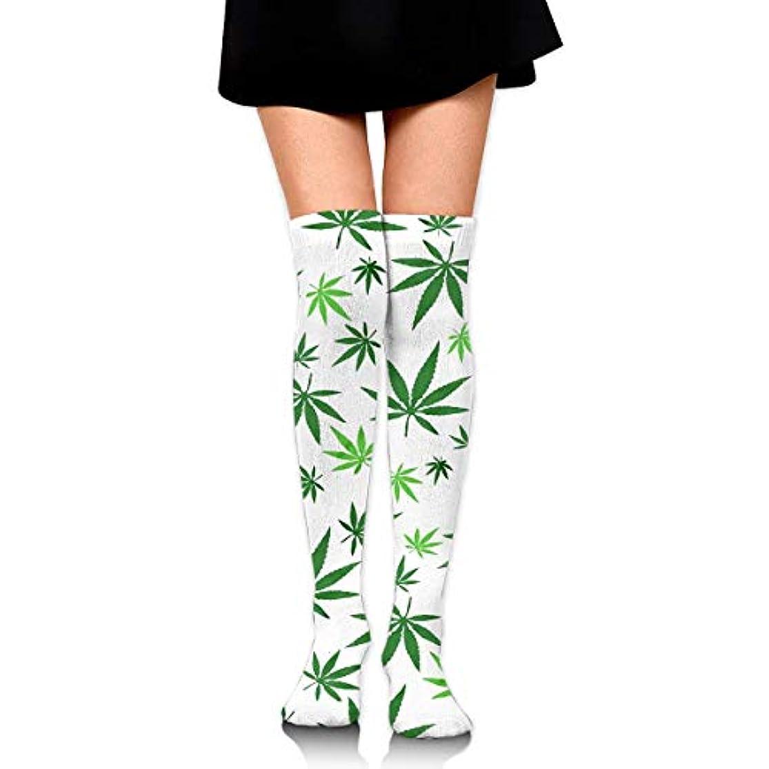 料理をするぼろ神社MKLOS 通気性 圧縮ソックス Breathable Thigh High Socks Over Exotic Psychedelic Print Compression High Tube Thigh Boot Stockings...