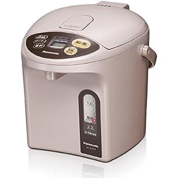 パナソニック 電気ポット 2.2L 真空断熱 省エネ保温 お好み温度調節 給湯量(2段階+コーヒー用) ベージュ NC-BJ224-C