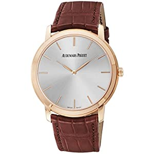 [オーデマ ピゲ]AUDEMARS PIGUET 腕時計 エクストラシン シルバー文字盤 15180OR.OO.A088CR.01 メンズ 【並行輸入品】
