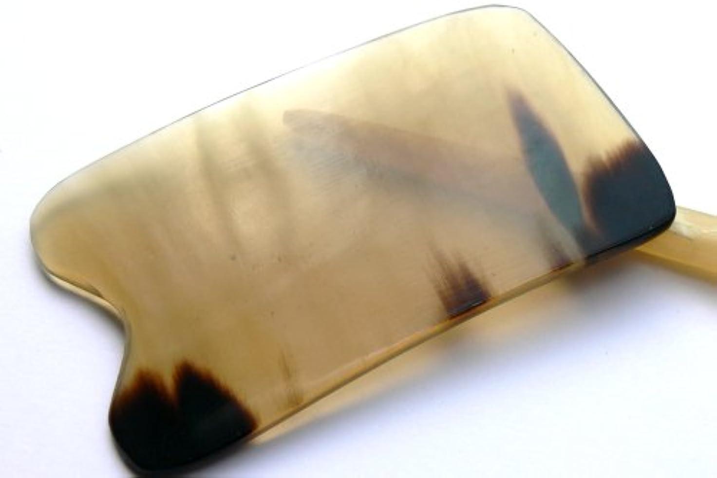 筋浸透するベルトかっさ板、美容、刮莎板、グアシャ板,水牛角製