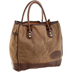 Premium Lake Michigan Tote Small 857: Field Tan Wax