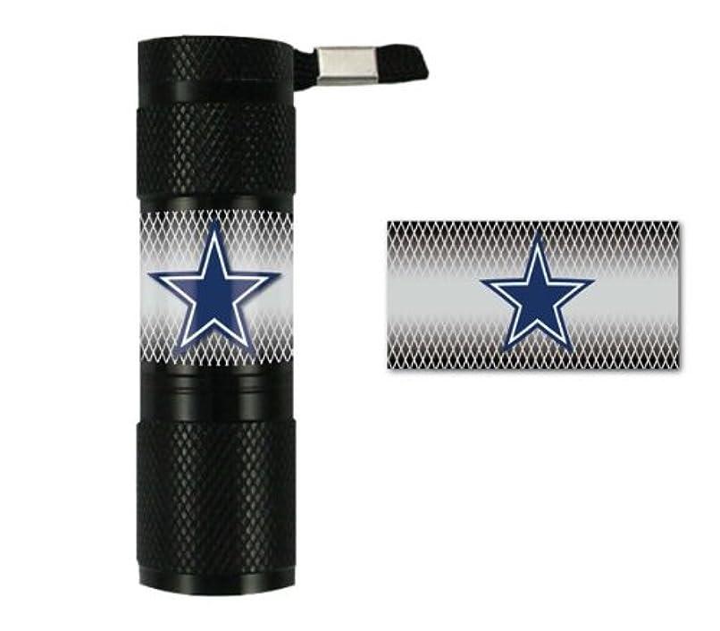 飢饉住人に向かってCaseys Distribution 8162054409 Dallas Cowboys lampe de poche LED