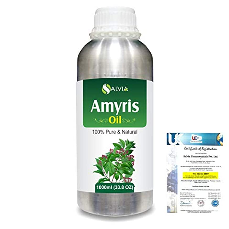 通知する逸話添加Amyris (Amyris balsamifera) 100% Natural Pure Essential Oil 1000ml/33.8fl.oz.