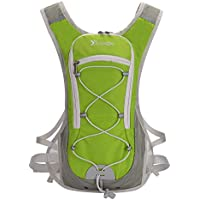 Outdoor Riding Backpack Cycling Backpack Water-Bladder Biking Rucksack Breathable Hydration Pack Lightweight Ski Rucksack for Outdoor Sports Running Hiking Camping Mountaineering Skiing