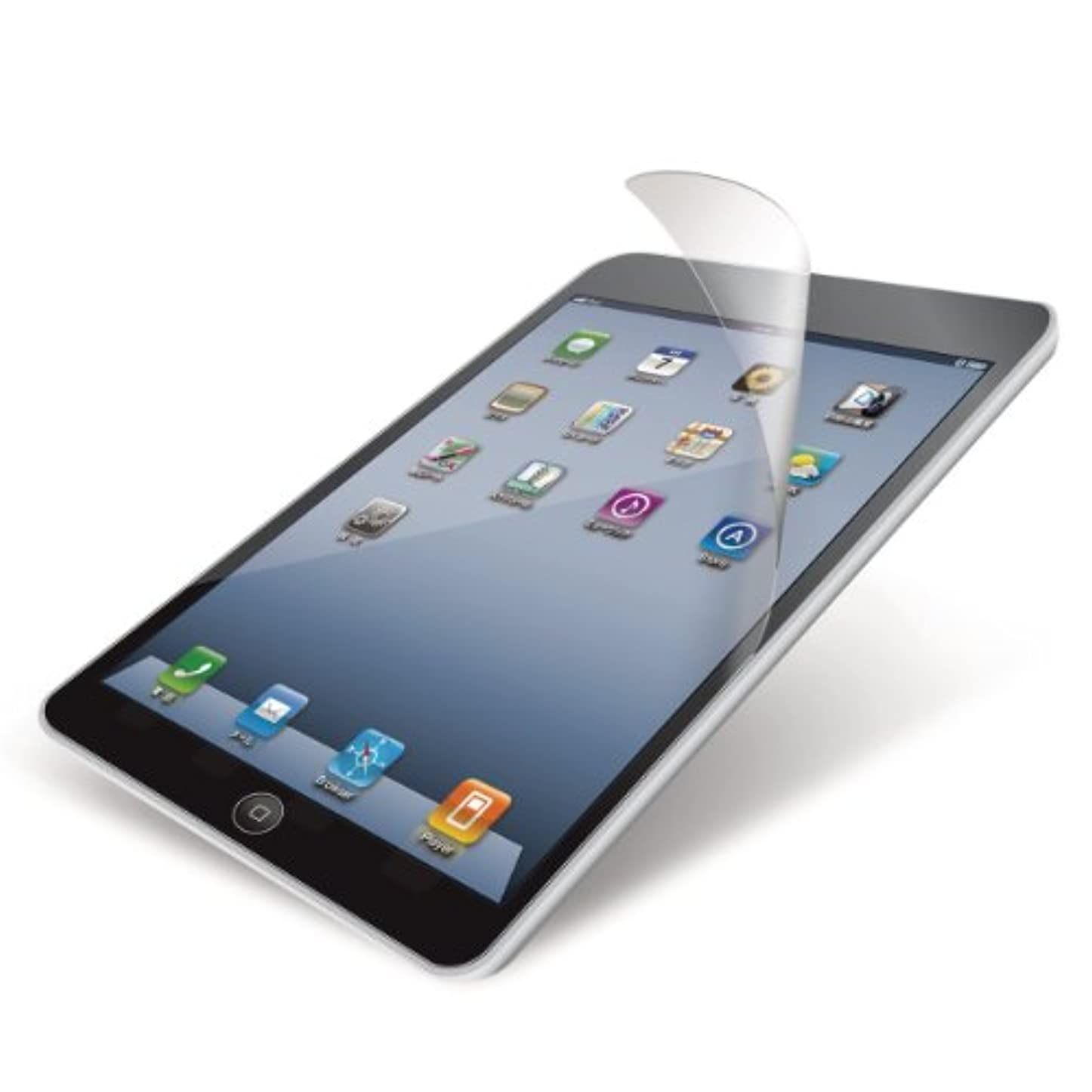 天才ペック飼いならすエレコム 保護フィルム iPad mini3 iPad mini Retina 指紋防止 気泡が目立たなくなるエアーレス加工 反射防止 【日本製】 TB-A12SFLFA
