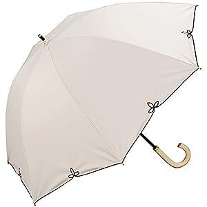 w.p.c 日傘 晴雨兼用 遮光 バードケイジ ワイドスカラップ'17 ベージュ 55cm 81-6569