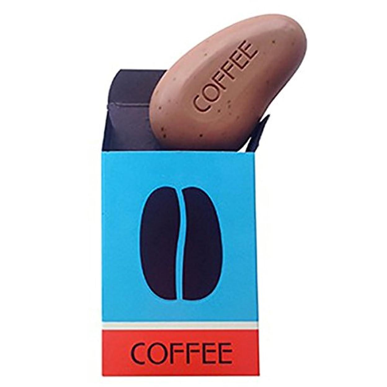 これまで不規則性ラフカラスタイル 【モダンウォッシュ】 コーヒーソープ 99g