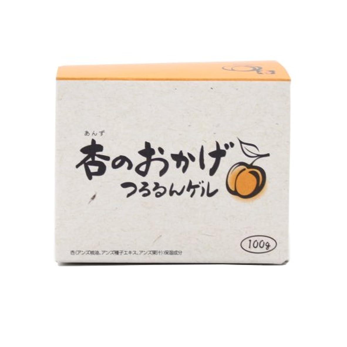 横キャリア脳プラセス製薬 杏のおかげ つるるんゲル 100g