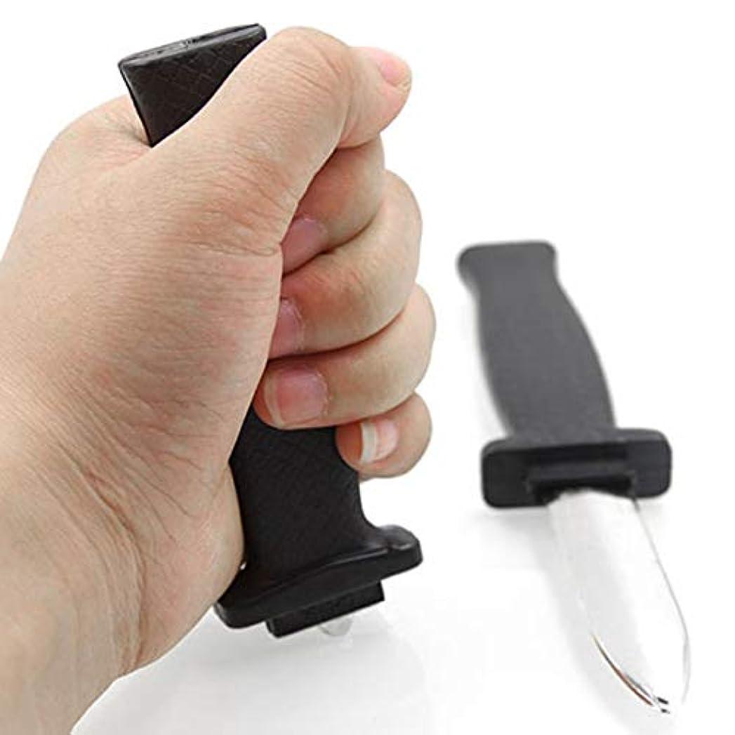 ごみ小売ペリスコープハロウィーンの小道具のおもちゃジョークマジックプラスチック格納式ナイフジョークいたずら小道具ナイフ怖いトリックフェイク短剣