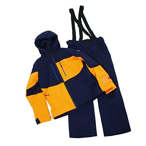 [해외] 피닉스(피닉스) MIXED SNOW WORK TWO- PS7722P31 NV 맨즈 상하 세트 스키 웨어 (네이비/L/MEN'S)-