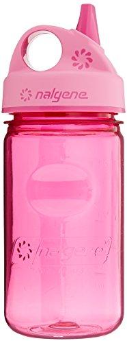 NALGENE(ナルゲン) 広口丸ループ付ボトル 380ml Tritan ブルー