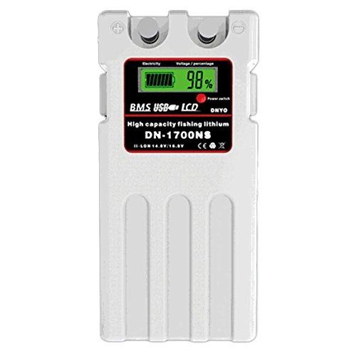 ダイワ シマノ 電動リール用 DN-1700NS スーパーリチウム 互換バッテリー