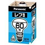 パナソニック レフ電球 100V 60W形 口金E26 [10個セット] RF100V54W/D-10SET