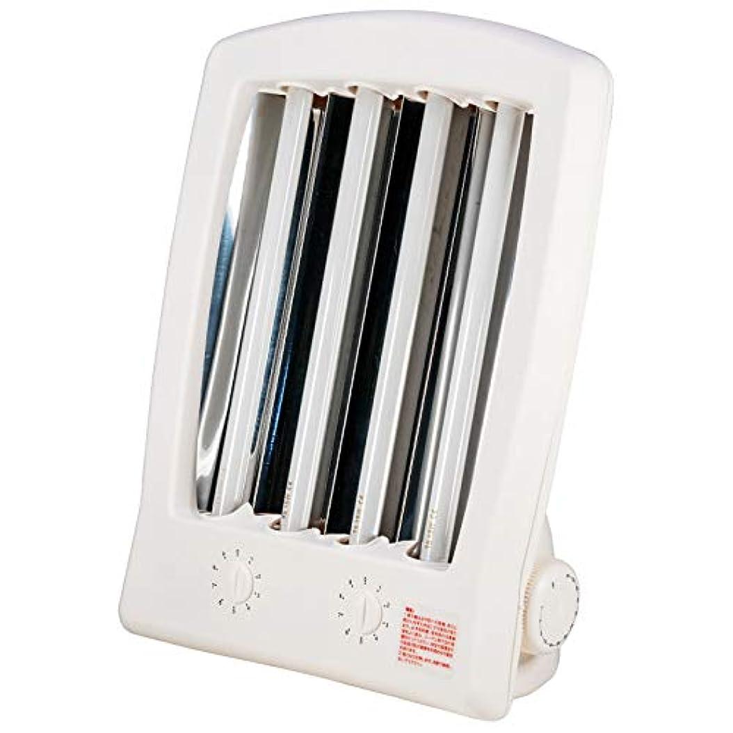 デッド威信髄funks 家庭用 日焼けマシン 15W 4本仕様 顔用 タンニングマシン UVランプ 29cm 紫外線ランプ