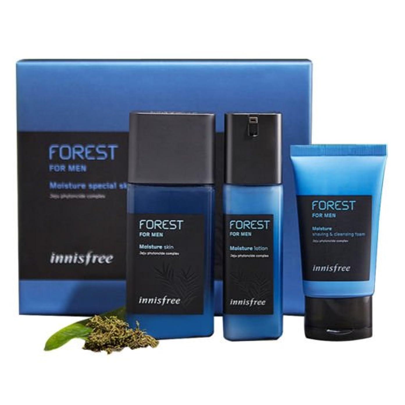 従事する一生哲学的[イニスフリー Innisfree]フォレストフォーメンモイスチャースペシャルスキンケアセット/Forest for men Moisture special skin care set (Skin 180ml+ Lotion 120ml+ GIFT Cleansing Foam 50ml)