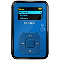 SanDisk Sansa Clip+ 4GB MP3 Player (Blue)