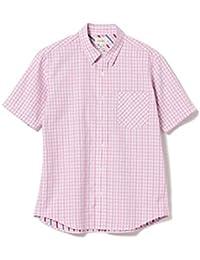 [ビームス] 半袖 シャツ ギンガムチェック ショートスリーブ シャツ メンズ