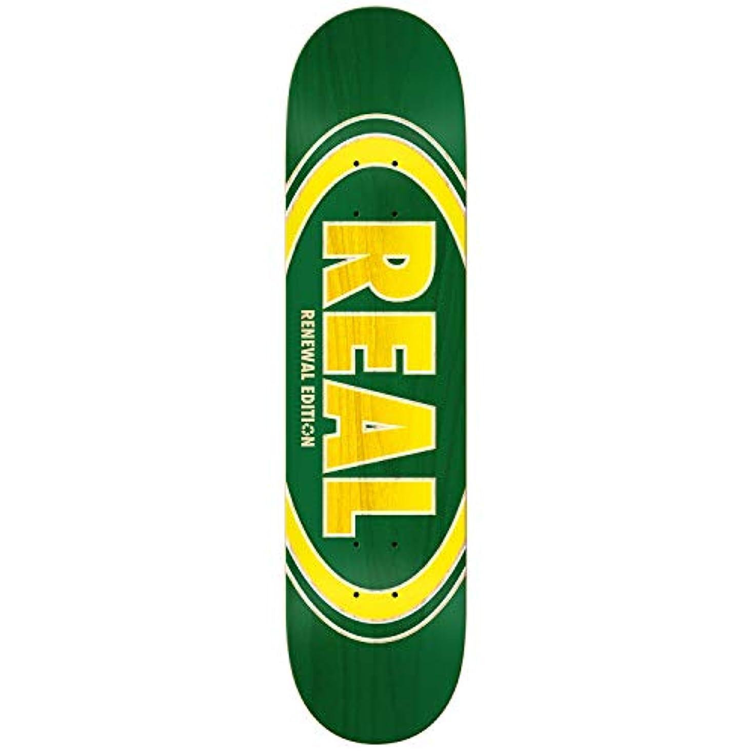 感謝するとんでもないベスビオ山リアルスケートボードデッキ オバルドゥオフェードグリーン 7.75インチ