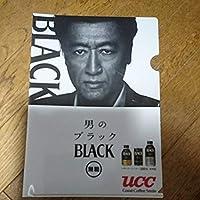 UCC BLACKオリジナル桑田佳祐クリアファイル