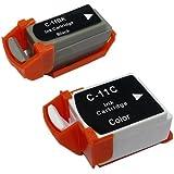 Canon BCI-10/BCI-11 互換インク (ブラック+カラー (BCI-11))