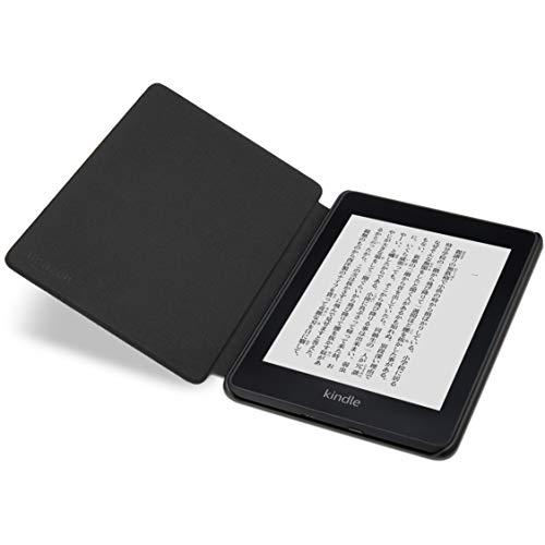 『Amazon Kindle Paperwhite (第10世代) 用 ファブリックカバー チャコールブラック』の3枚目の画像