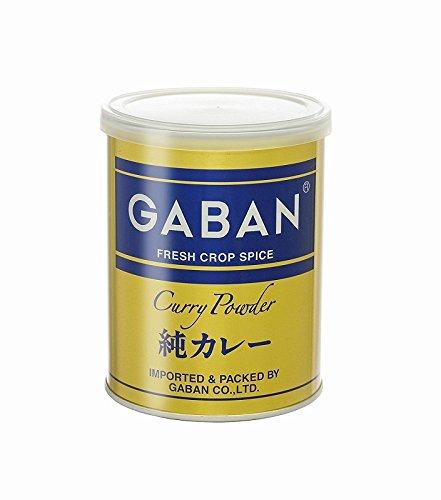 GABAN 純カレーパウダー (缶) 220g