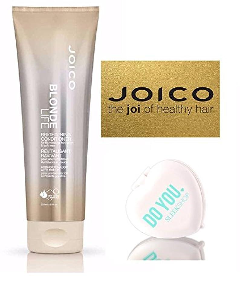 キャプテンブライ恐ろしいです運営Blonde Life by Joico (なめらかなコンパクトミラー付)ジョイコブロンド?ライフブライトニングコンディショナー(8.5オンス/ 250mlの - 小売サイズ) 8.5オンス