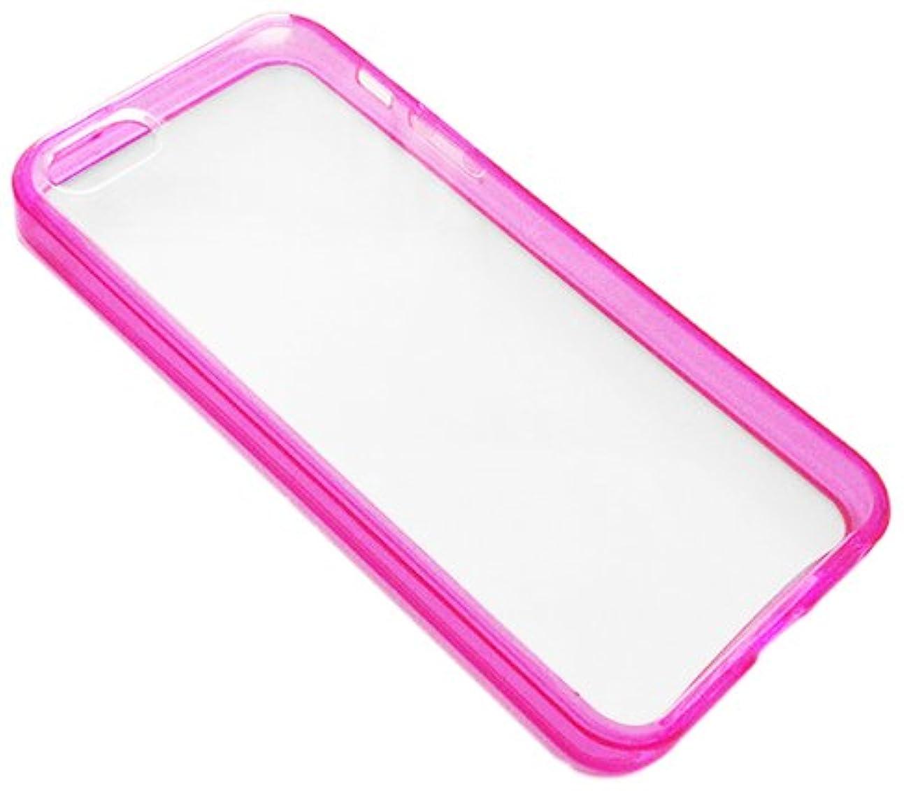 インレイバレーボール苦難エアージェイ iPorter iPhone5専用 ケース ピンク/側面ソフト 背面ハード AC-P5-TP PK