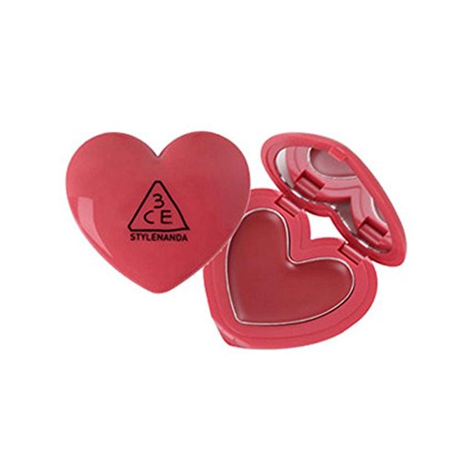 重さ早く端3CE HEART POT LIP /ハートポットリップ(Woody Rose)