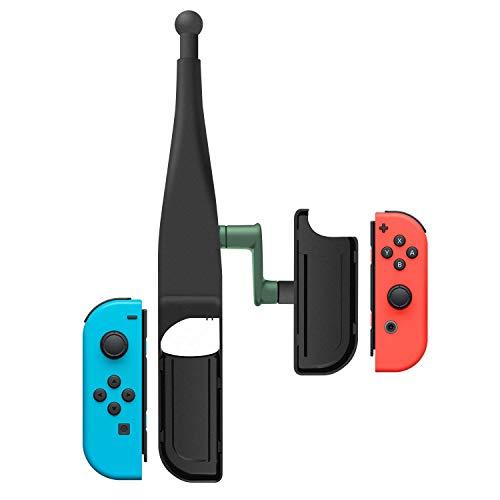 釣り竿 Joy-con用 Nintendo Switch対応 体感コントロールゲーム 釣りロッド 釣竿 ョイスティック ゲームパッドツール 釣りスピリッツ対応