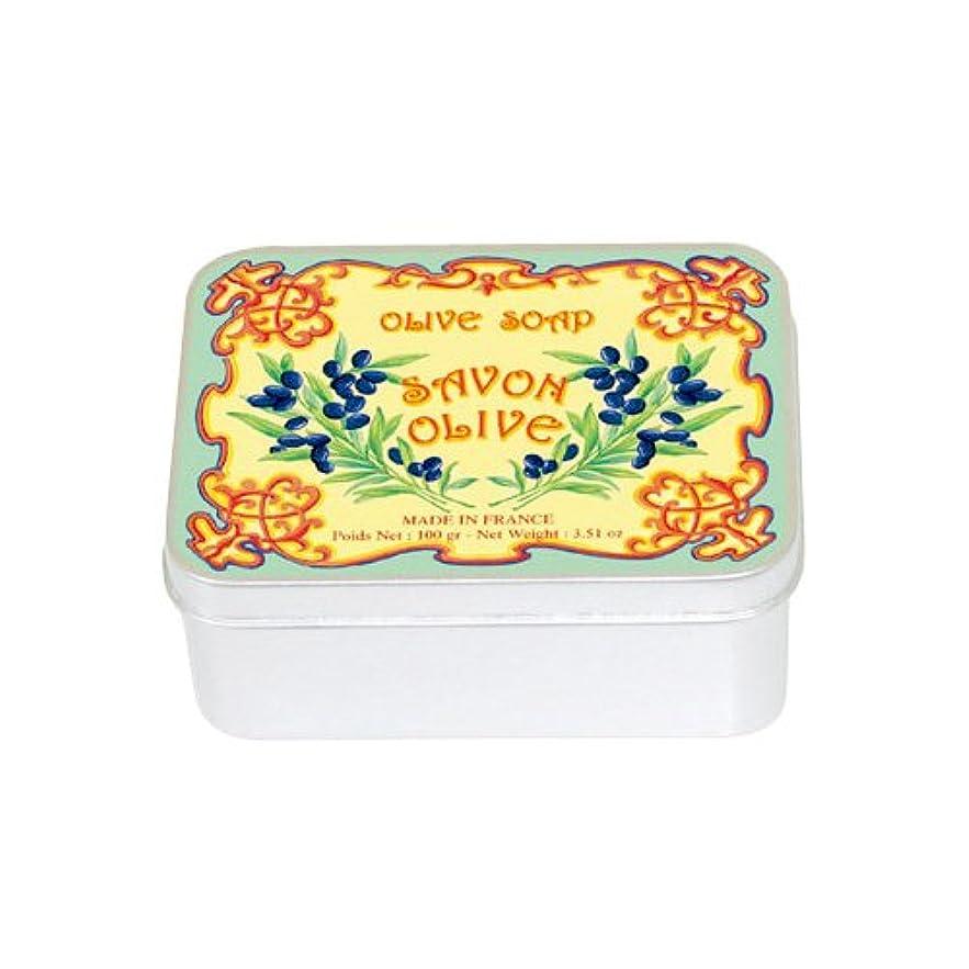 クライアントカフェテリアリブルブランソープ メタルボックス(オリーブの香り)石鹸