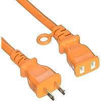 山善(YAMAZEN) 園芸機械用 延長コード 10m VCT/0.75×2芯 7A・125V(合計700Wまで) オレンジ ECT-S710