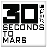 "30 Seconds To Mars Vynil車ステッカー4 "" x 4 """